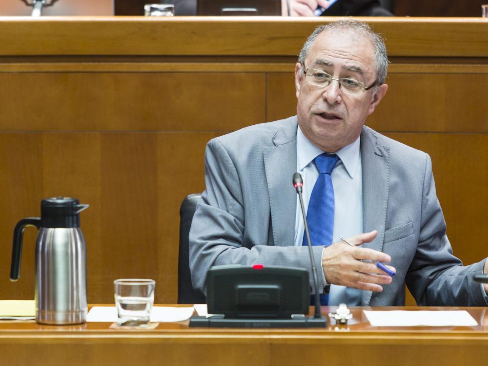 Gimeno, consejero de Hacienda y Administración Pública del Gobierno de Aragón