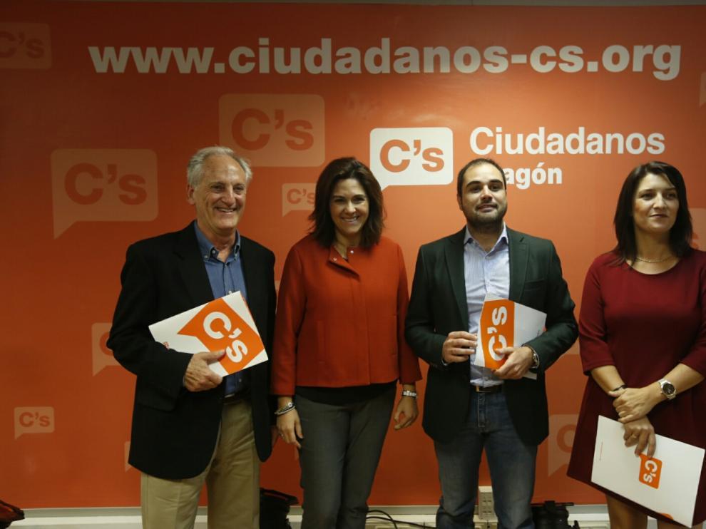 Presentación de los candidatos de Ciudadanos.