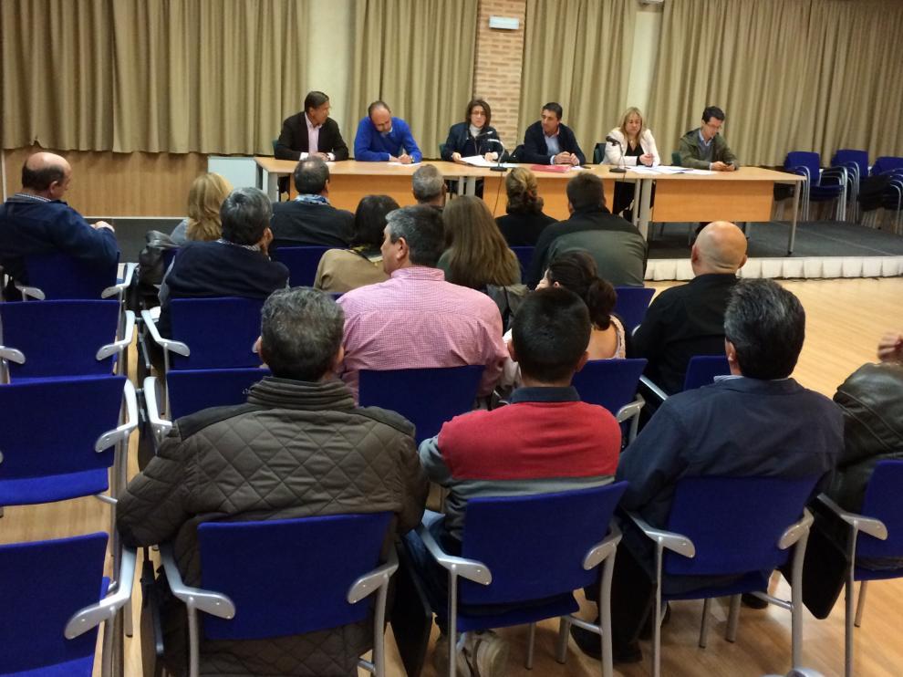 Reunión del PP con alcaldes, concejales y afiliados de la comarca de Almazán.
