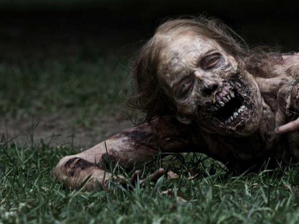 Un zombi de 'The Walking Death', en una foto de archivo.
