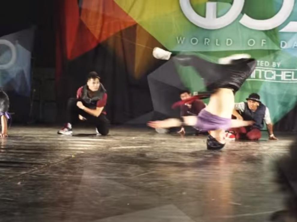 Edición anterior del campeonato mundial World of Dance, en Zaragoza.