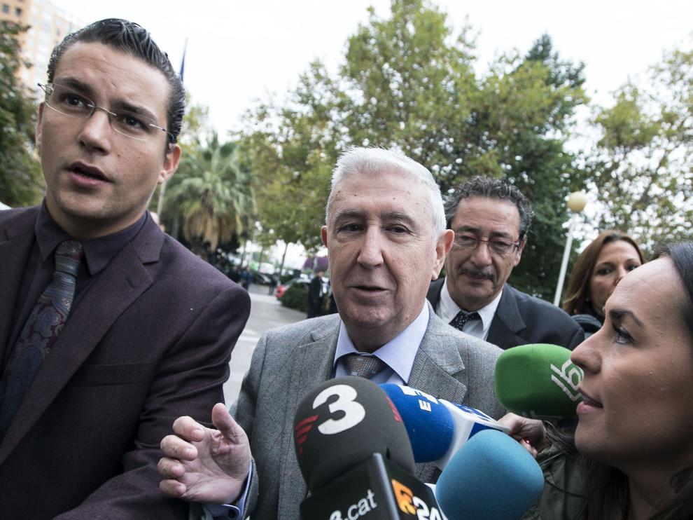 El ex secretario general de la extinta Radiotelevisión Valenciana (RTVV) Vicente Sanz.