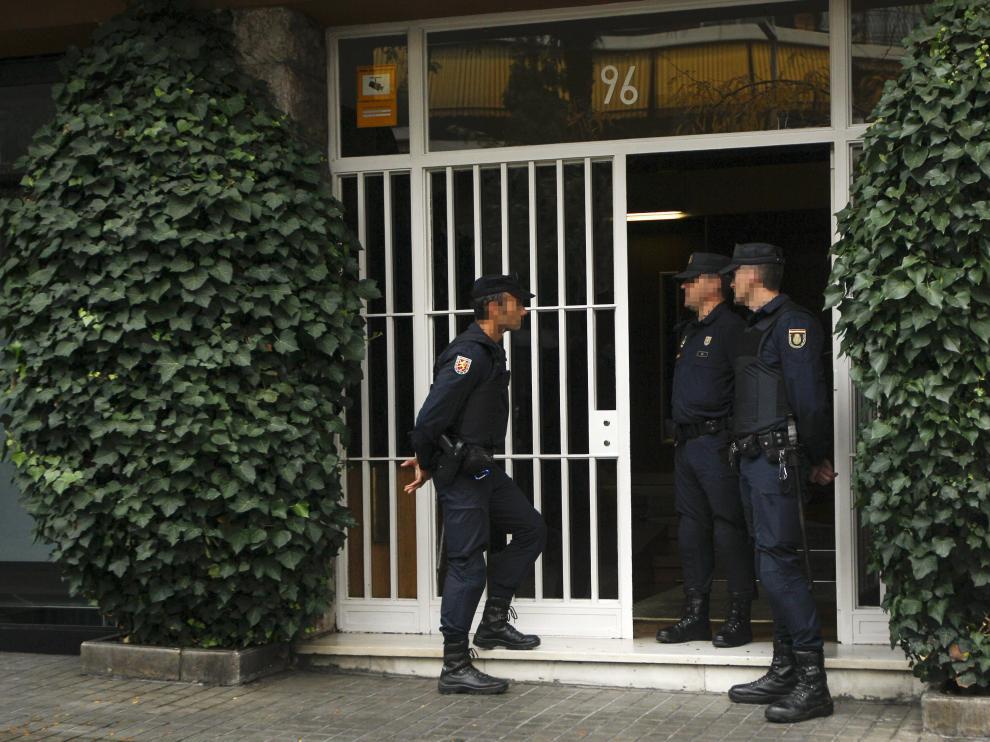 Registro en el domicilio del expresidente catalán.