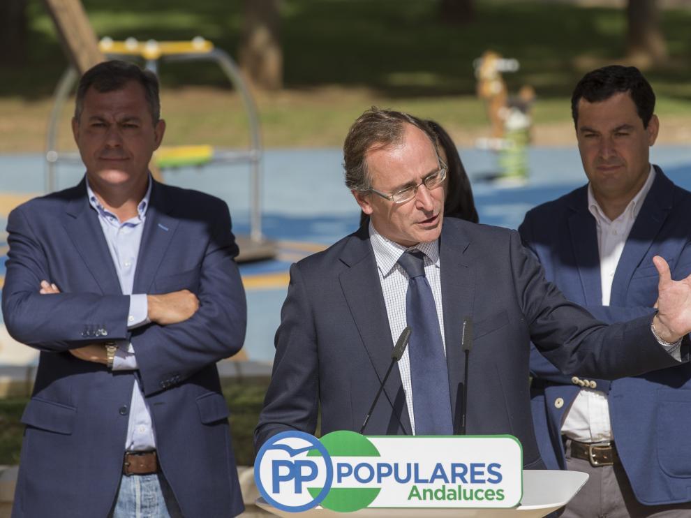 Alfonso Alonso, presidente del PP del País Vasco