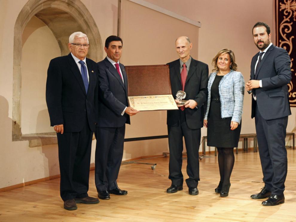 Acto de entrega del Premio de Investigación 2015 de la FCCR.