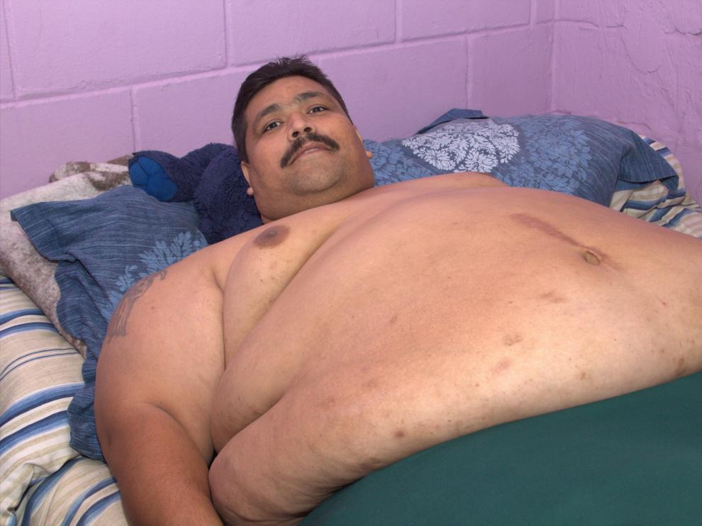Con 18 años ya pesaba 120 kilos.
