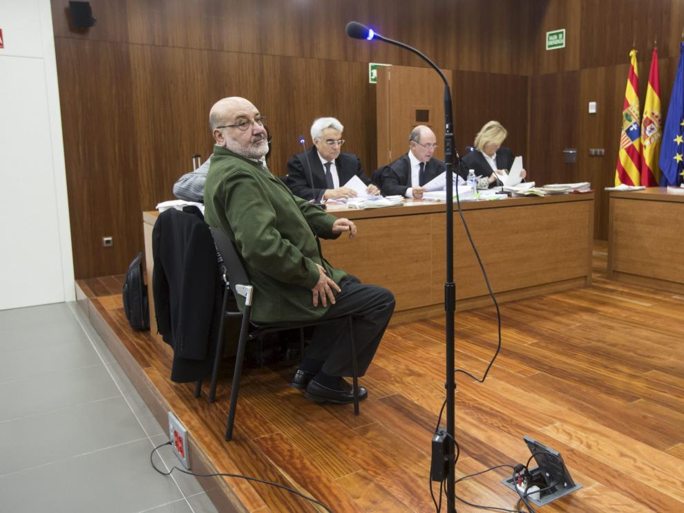 El exdirector de Cultura de la DPZ, durante el juicio