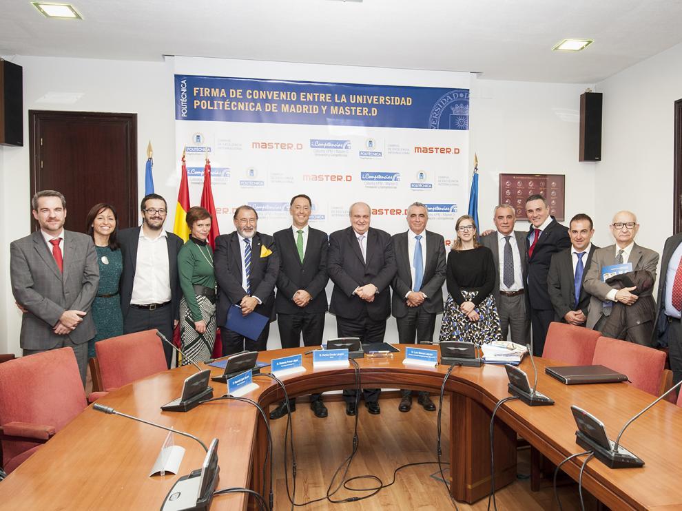 'Cátedra Innovación y Competencias' de UPM y MasterD.