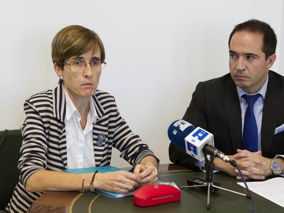 María Jesús Cuartero, en rueda de prensa