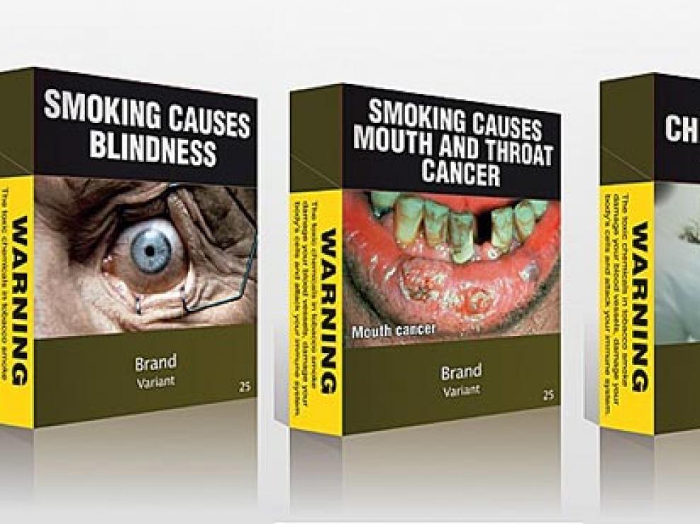 La medida ya se aprobó en Australia y ha permitido la disminución de 2,8 puntos del consumo de tabaco en menos de dos años en ese país.