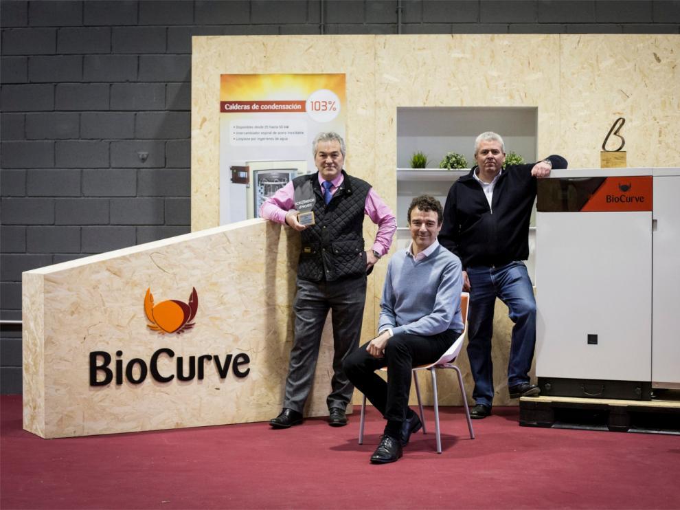 El equipo de Biocurve, un equipo visionario.