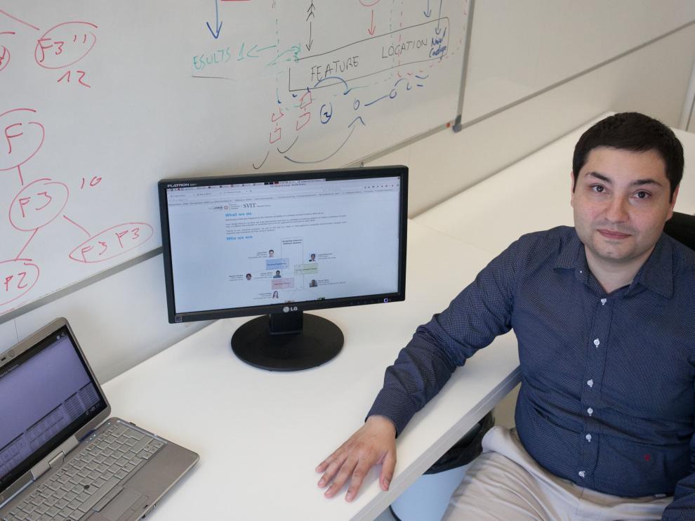 Carlos Cetina ha merecido un accésit de los Premios Tercer Milenio en la categoría Joven talento investigador.