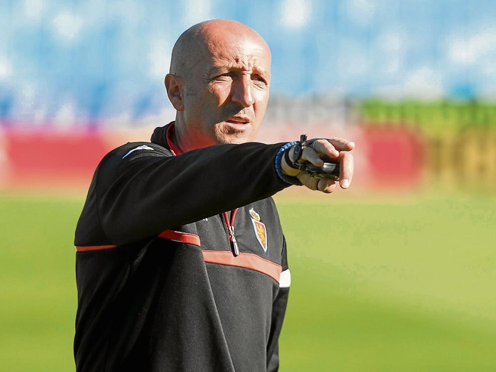 Ranko Popovic, en la matinal de ayer viernes al inicio del ensayo del equipo a puerta cerrada.