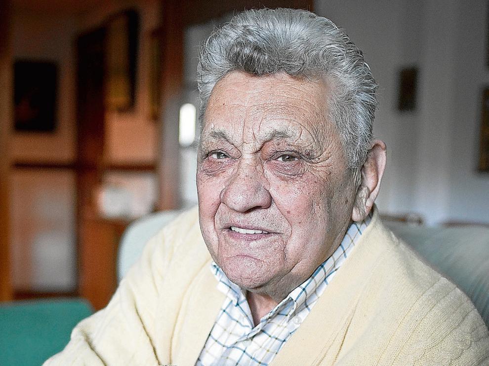 Ranko Zeravica, exselecionador yugoslavo y extécnico del CAI Zaragoza.
