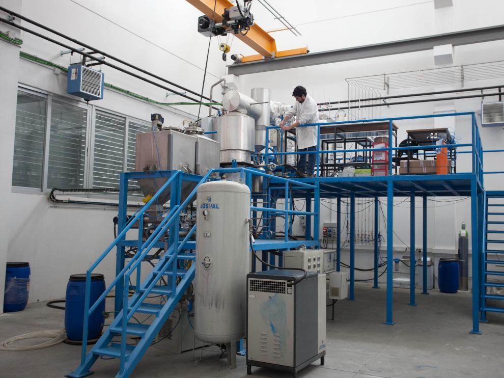 Grupo de Procesos Termoquímicos del Instituto de Investigación en Ingeniería de Aragón.