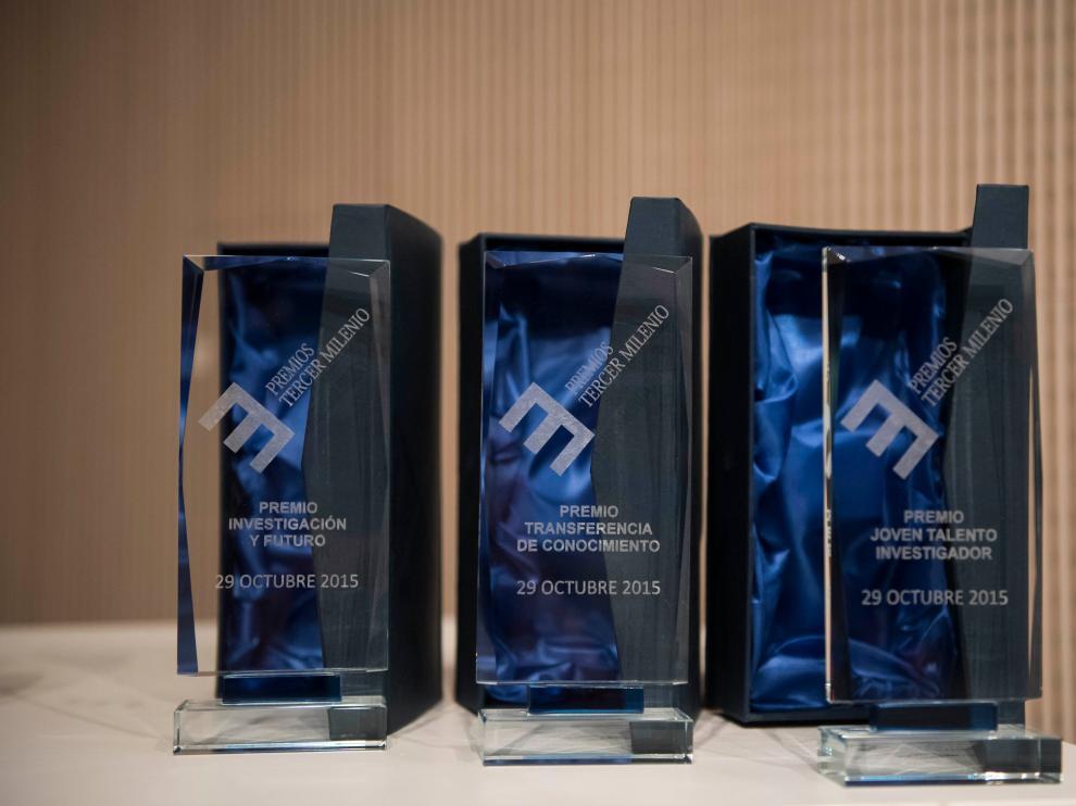 Los premios se dividieron en tres ejes -innovación, investigación y divulgación- y de cada uno, salieron tres ganadores.