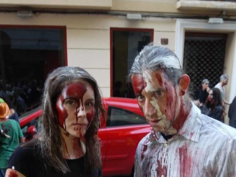 La marcha zombie invadirá las calles de Zaragoza el sábado 28.