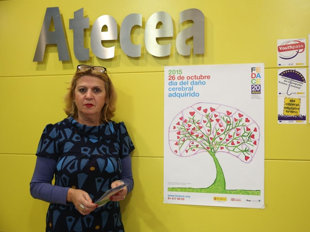 Teresa Rueda, directora del centro de Atecea de Parque Goya.