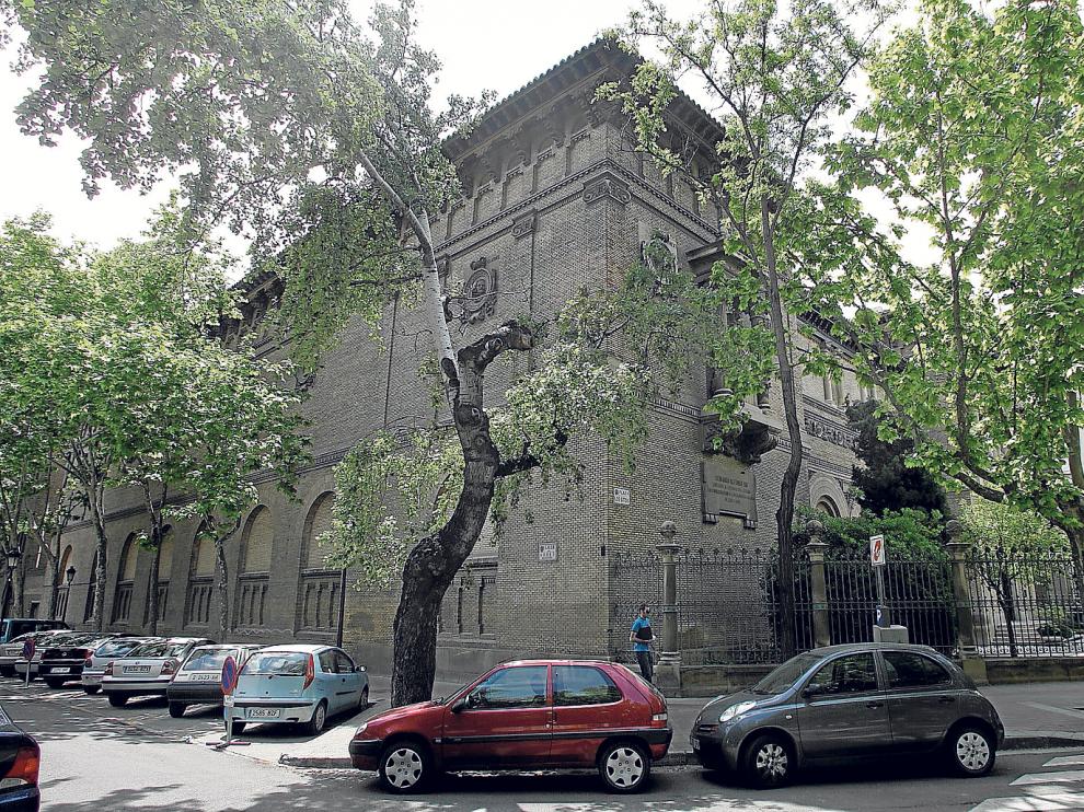 El Museo de Zaragoza, donde se estudian las pinturas de Goya.