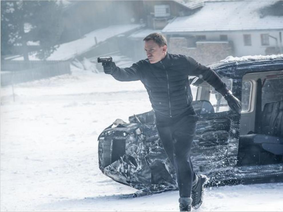 Daniel Craig encarna a James Bond en 'Spectre'.