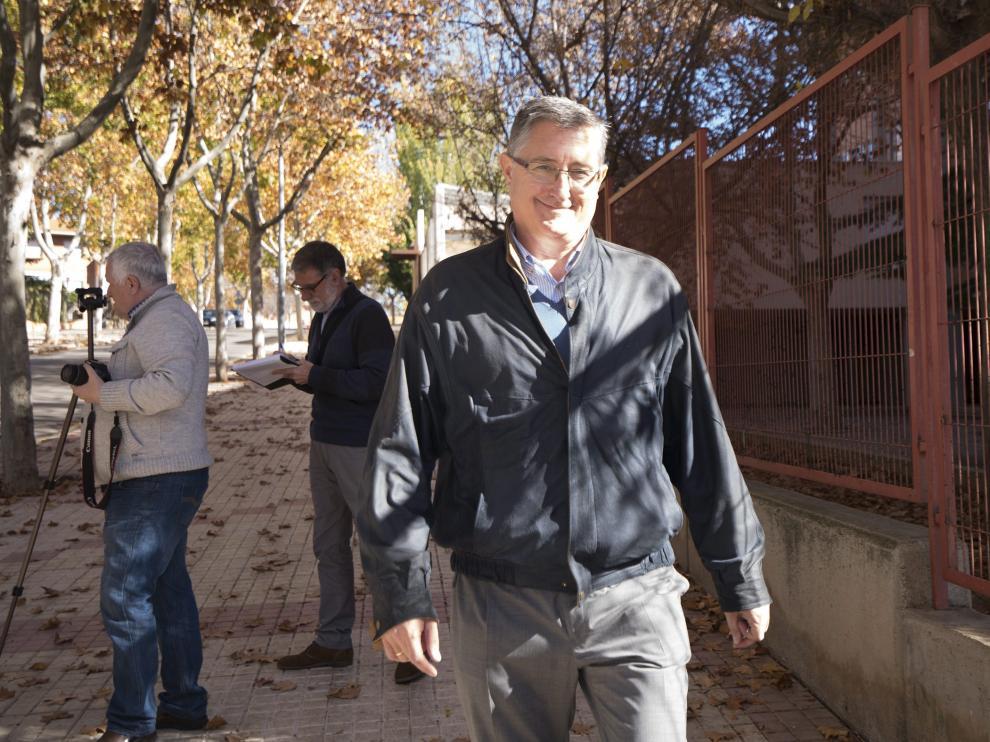 Manuel Blasco, alcalde de Teruel, que irá como número uno del PP al congreso de los diputados en las próximas elecciones.
