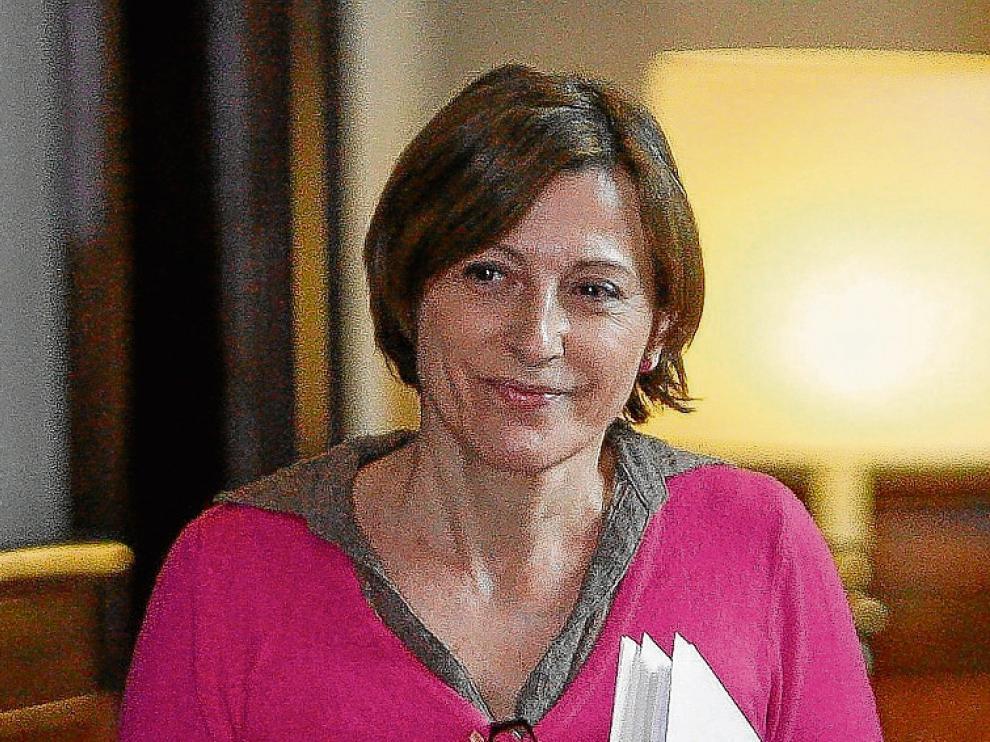 Laexpresidenta del Parlament, Carme Forcadell, en una imagen de archivo.