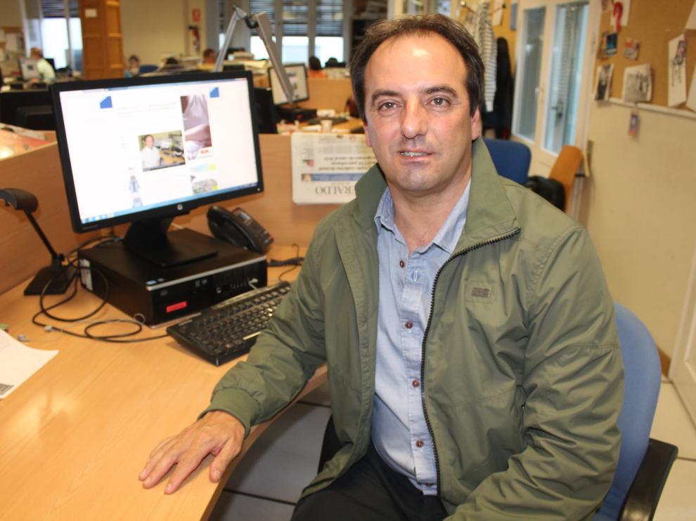 El doctor Antonio Urries, director de Reproducción Asistida de Quirónsalud, en Zaragoza.
