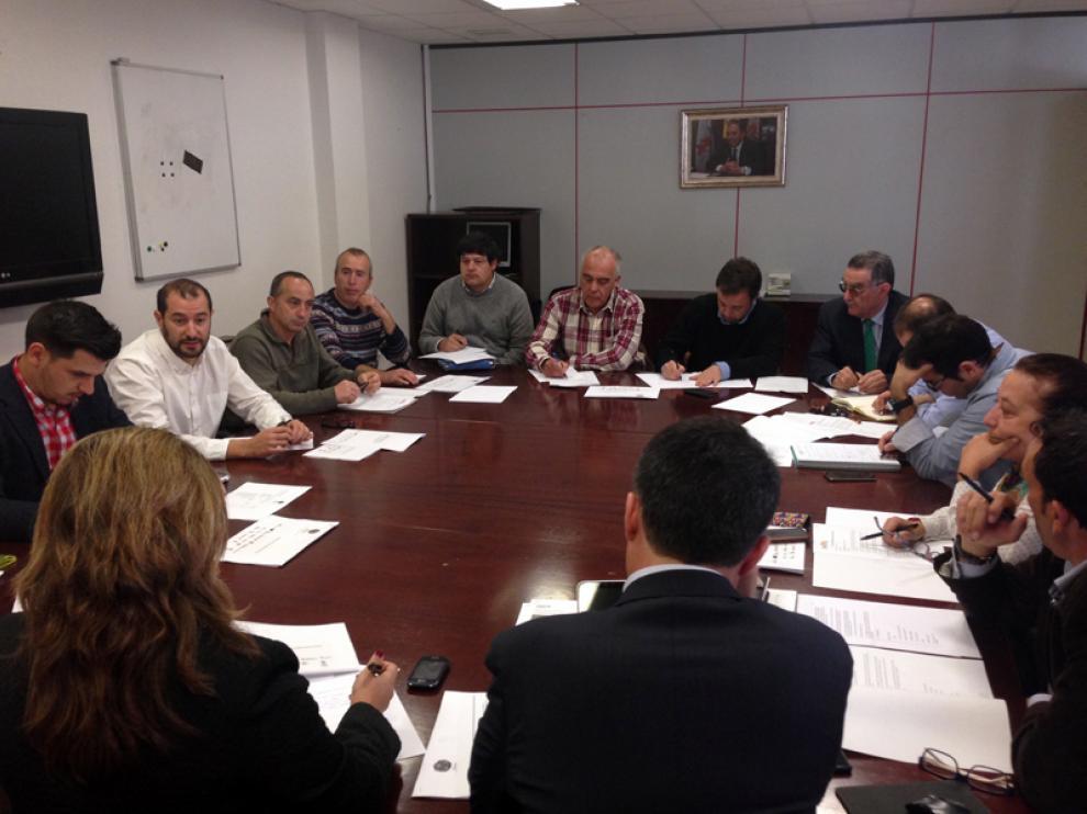 Reunión de coordinación del sector celebrada este jueves en las instalaciones del Cesefor.