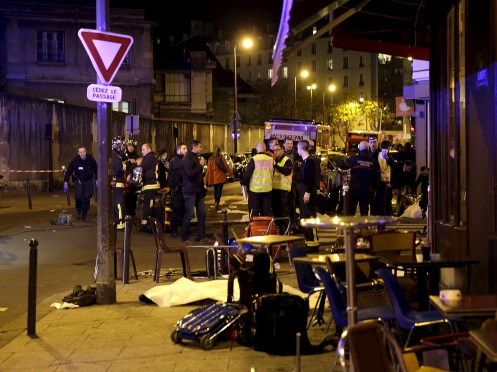 La Policía acordona la zona en la que se ha producido el tiroteo