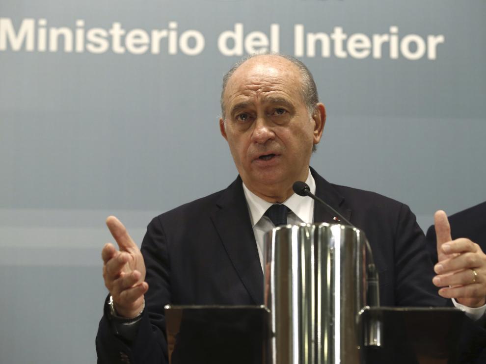 El ministro del Interior Fernández Díaz