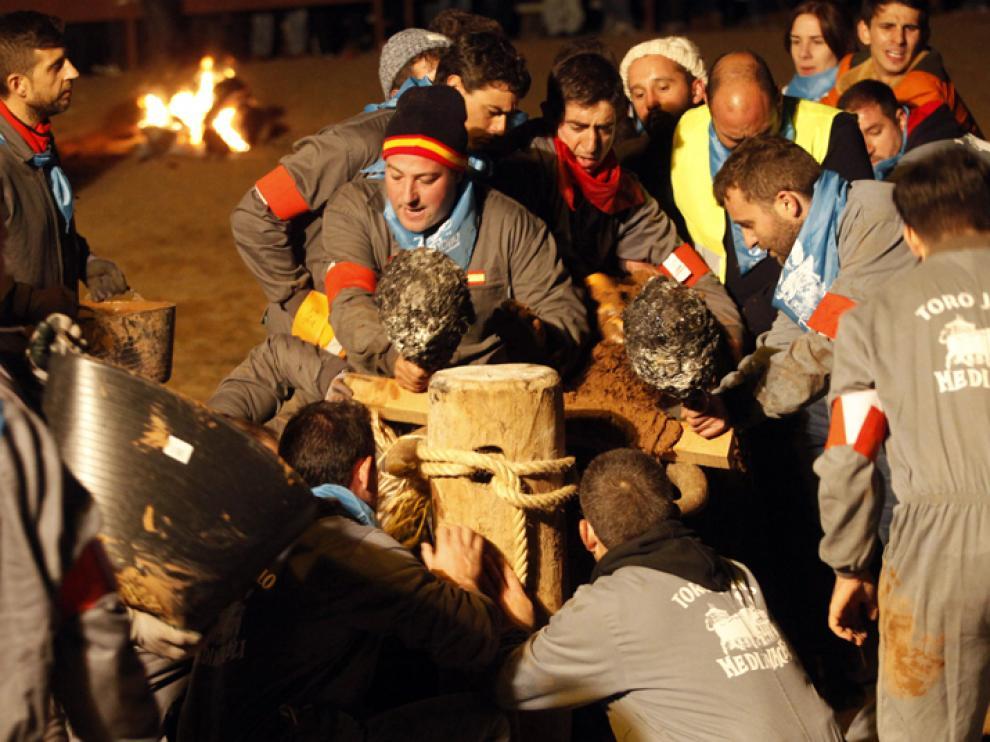 Celebración del festejo del Toro Jubilo el pasado año