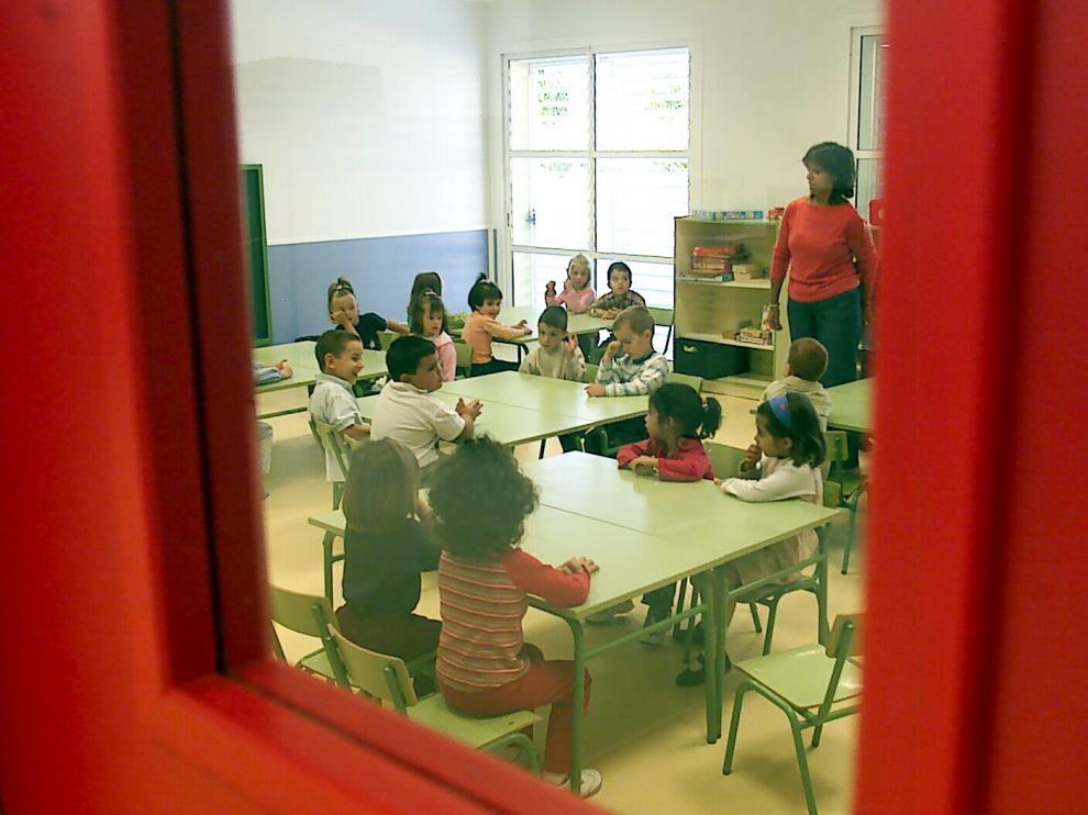 Colegio Miguel Artazos de Utebo, uno de los interesados en la jornada continua.