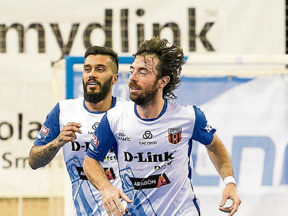 Caio Alves y Modrego, del D-Link Zaragoza.