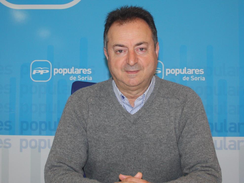El procurador del Grupo Popular por Soria y alcalde de El Burgo de Osma, Jesús Alonso Romero.