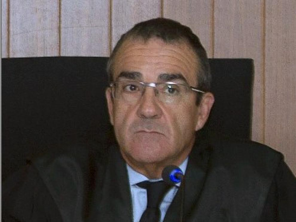 El juez Juan Pedro Yllanes.