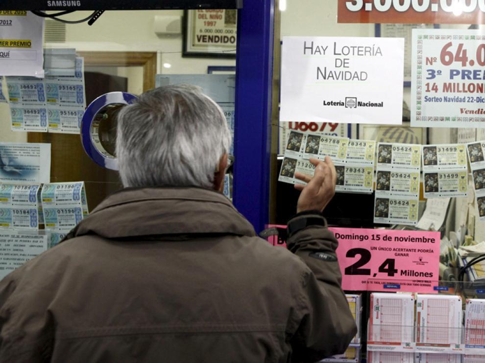 Una administración de lotería soriana.