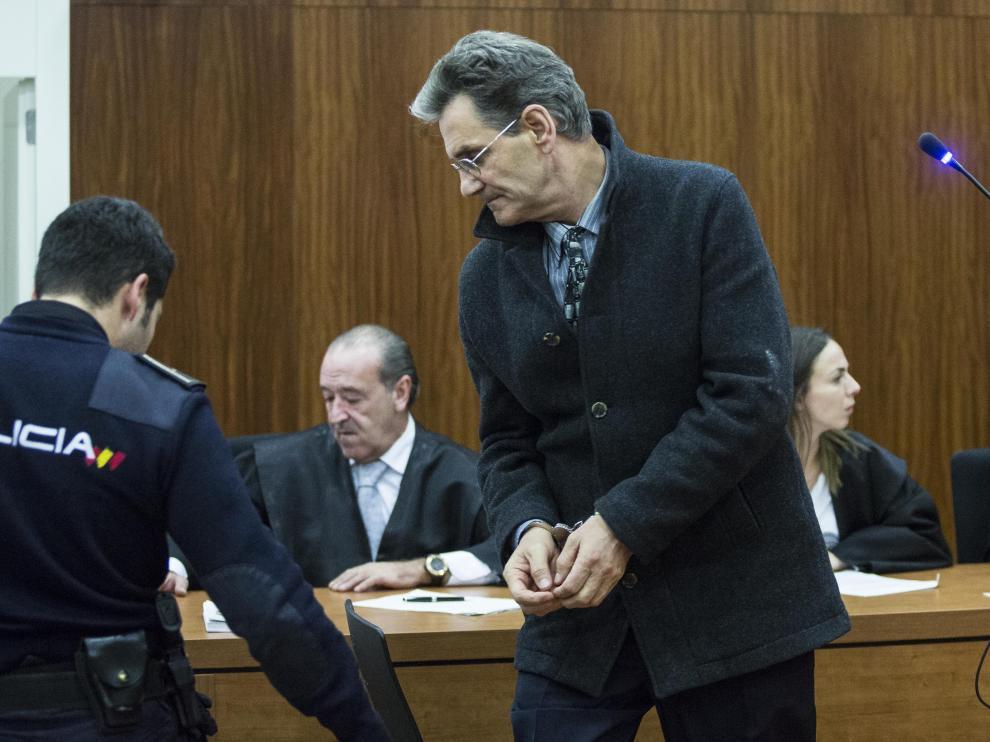Losilla escuchó el veredicto del Jurado este martes.