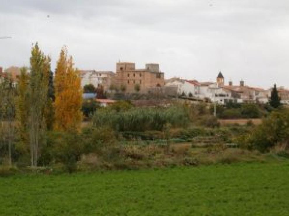 Imagen de la localidad zaragozana de Novallas.