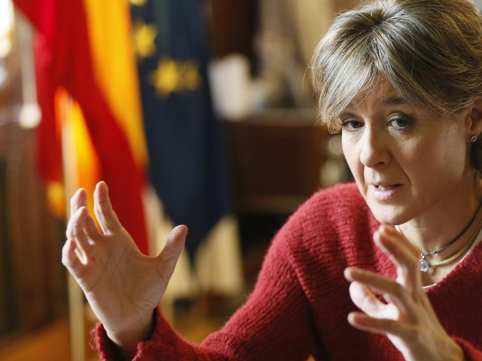 La ministra de Agricultura y Pesca, Alimentación y Medio Ambiente, Isabel García Tejerina, en una foto de archivo.