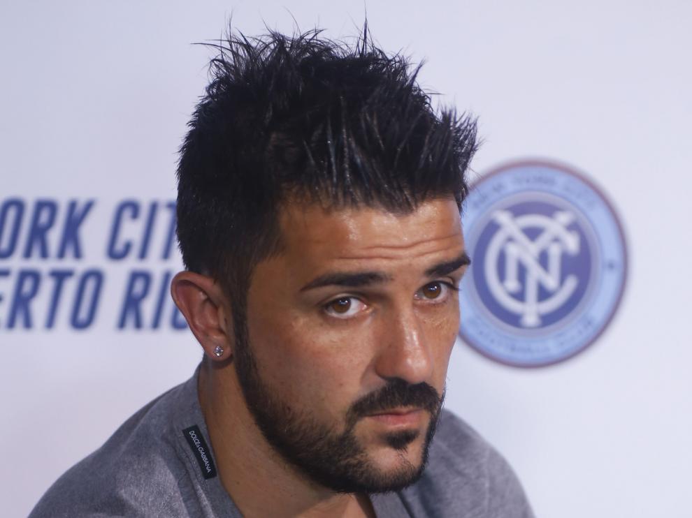 El jugador de fútbol, David Villa.