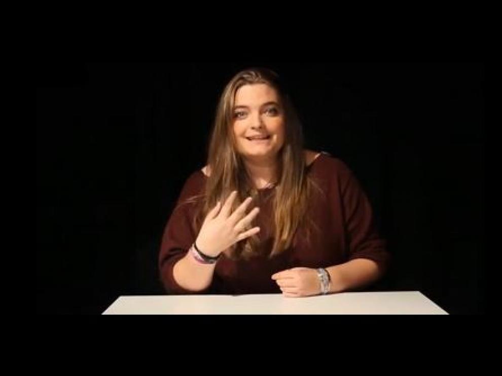 La hija de Zapatero se promociona como actriz en Youtube