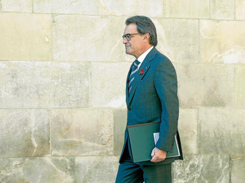 El expresidente de la Generalitat, Artur Mas, en una foto de archivo.