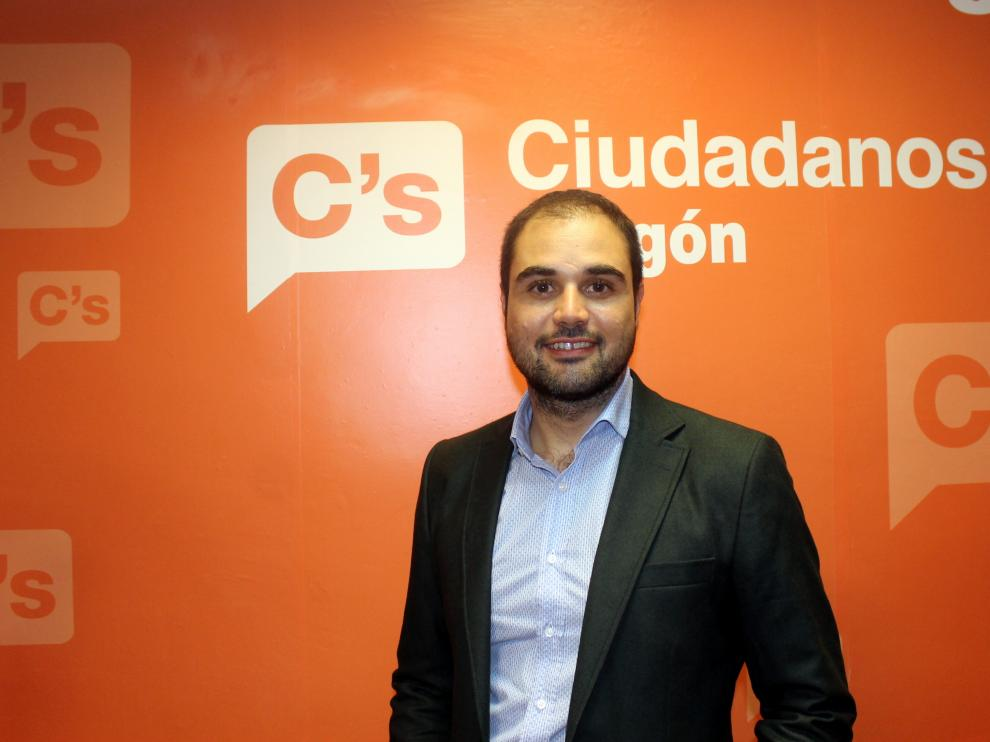Rodrigo Gómez García, diputado de Cs Zaragoza al Congreso.
