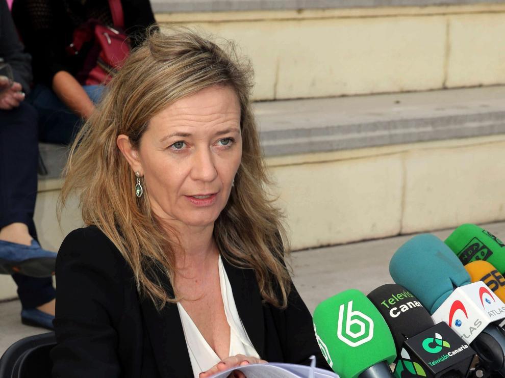 La exdiputada de Podemos, Victoria Rosell, en una imagen de archivo.