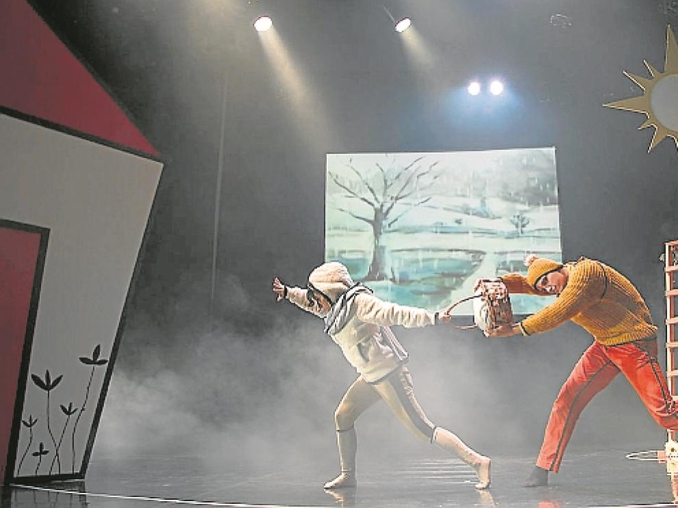 Imagen de archivo de una actuación de la compañía de danza Fernando Hurtado.