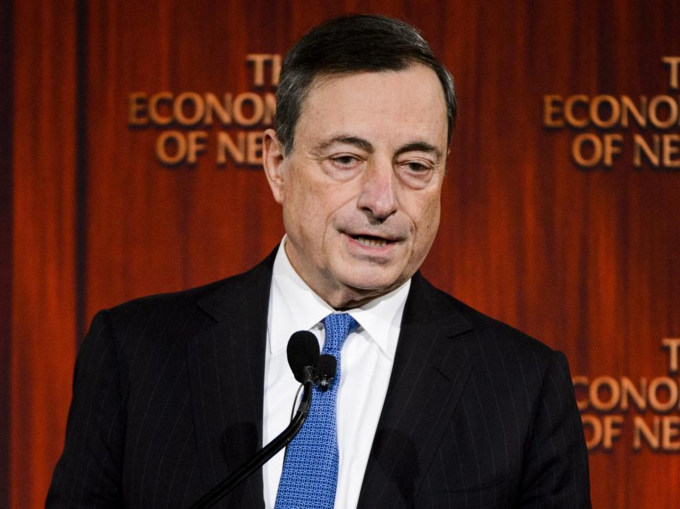 Mario Draghi en una imagen de archivo.