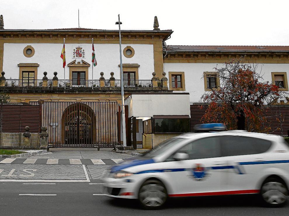 Vista de la prisión de Martutene, donde cumplían condena dos acusados de yihadismo.