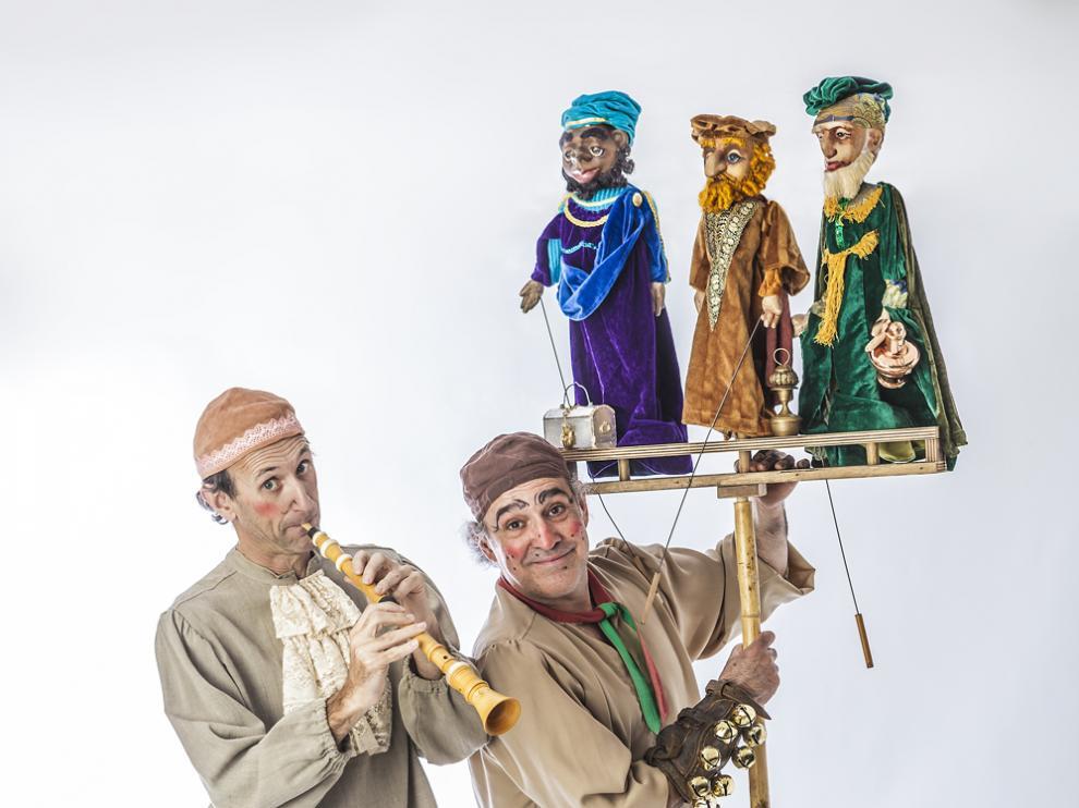 Una imagen del espectáculo 'Retablo de Navidad'.