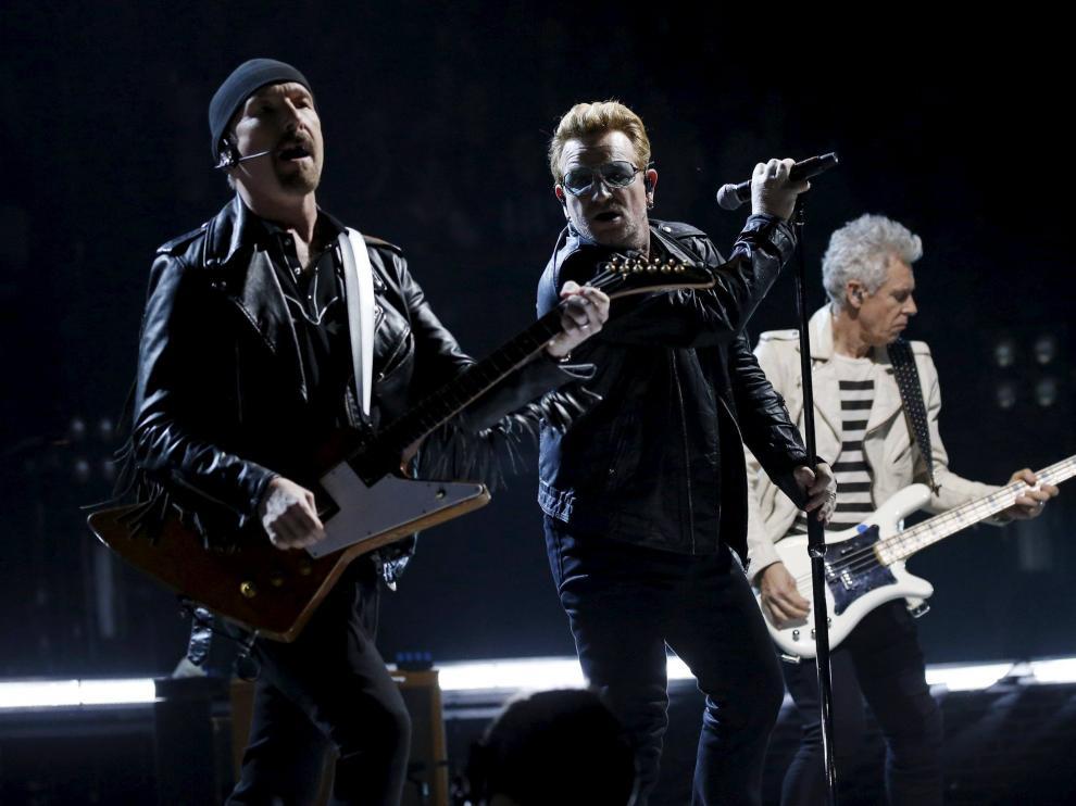 Concierto de U2 en París