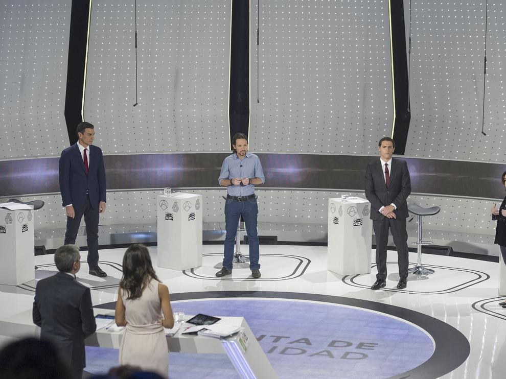 Debate electoral en Atresmedia